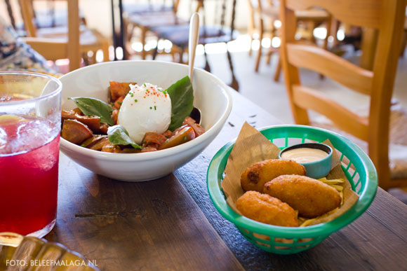 Malaga restaurant - tapas, eten en drinken