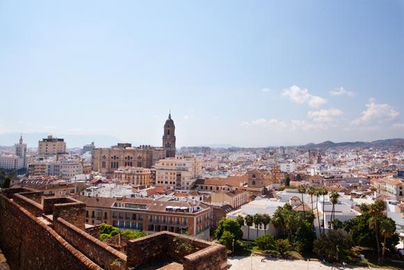 Alcazaba Malaga uitzicht vakantie