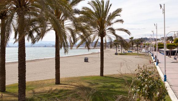 Malaga strand - El Palo