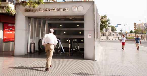 Trein vliegveld Málaga - centro Alameda