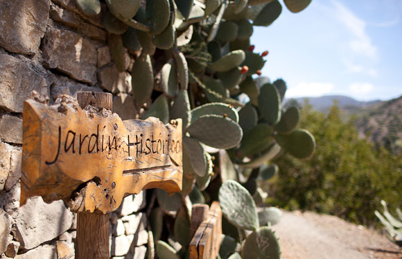 Botanische tuin Malaga - route reisgids