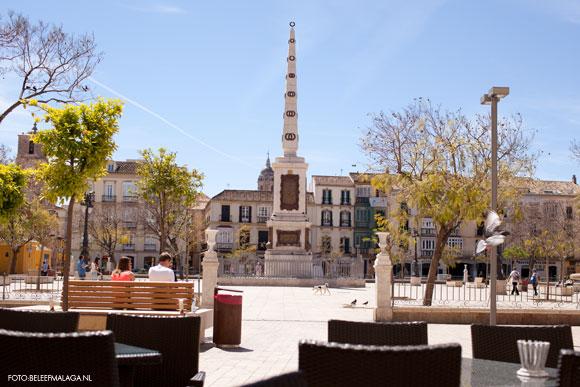Eten en drinken Malaga - Plaza de la Merced