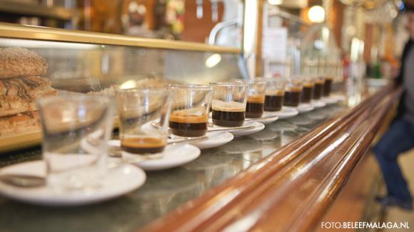 Koffie in Malaga - reisgids Malaga