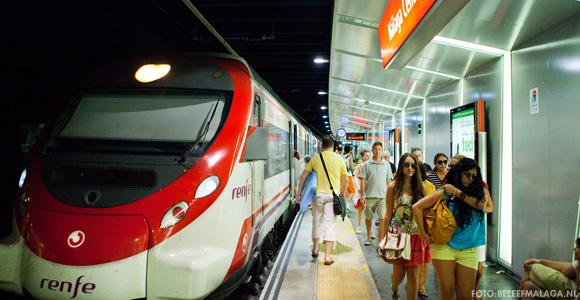 Trein vliegveld Málaga  - Malaga centro Alameda